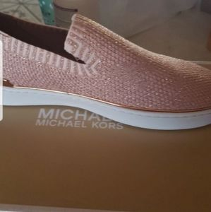 Micheal kors slip on shoes